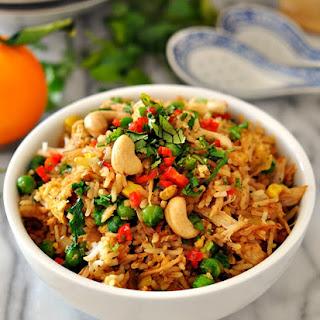 Chicken & Coriander Fried Rice