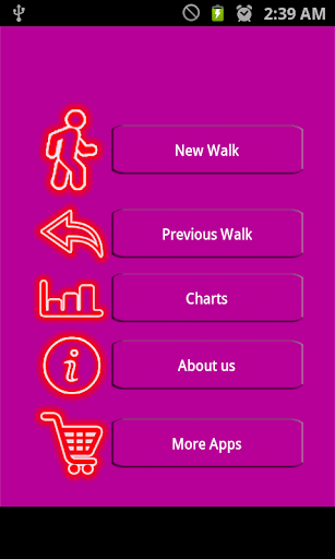 Walk Tracker :Calorimeter Free