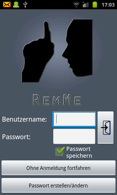 RemMe - screenshot