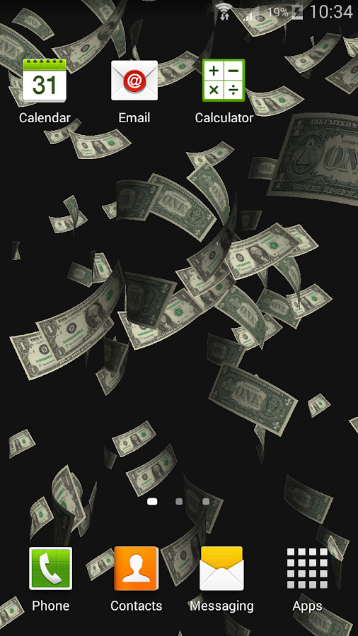 money rain live wallpaper android apps on google play