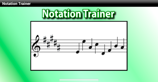 Notation Trainer