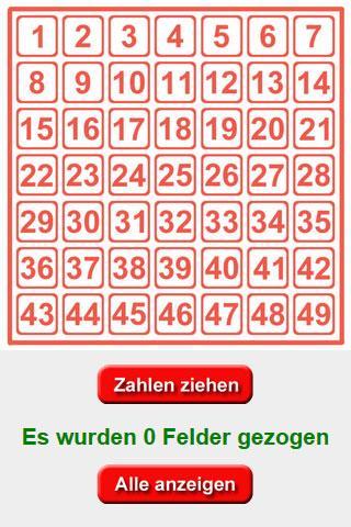 Lottozahlen-Generator