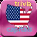 USA capitals trivia logo