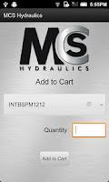 Screenshot of MCS Hydraulics