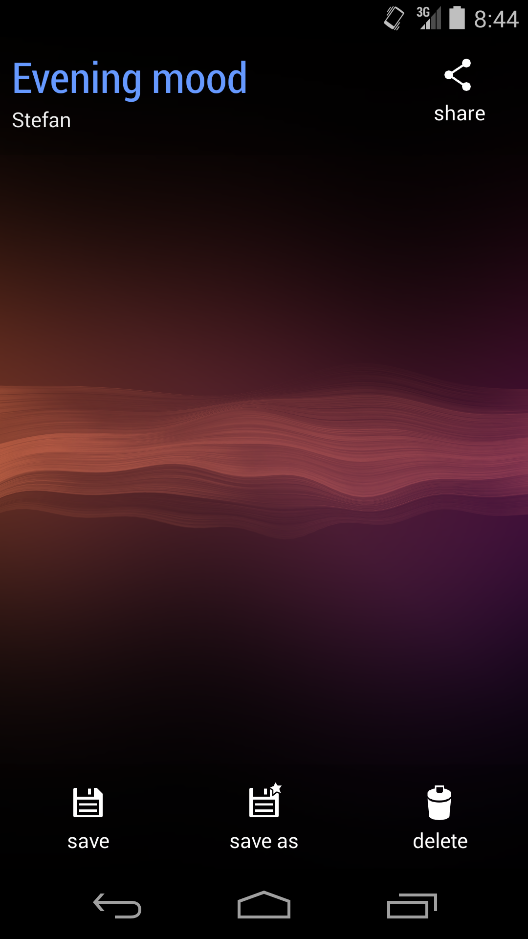 Wave screenshot #5