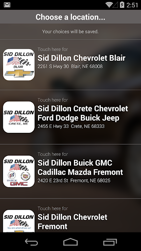 Sid Dillon DealerApp