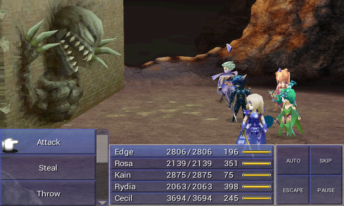 FINAL FANTASY IV - screenshot