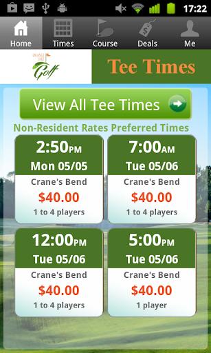 Orange Lake Golf Tee Times