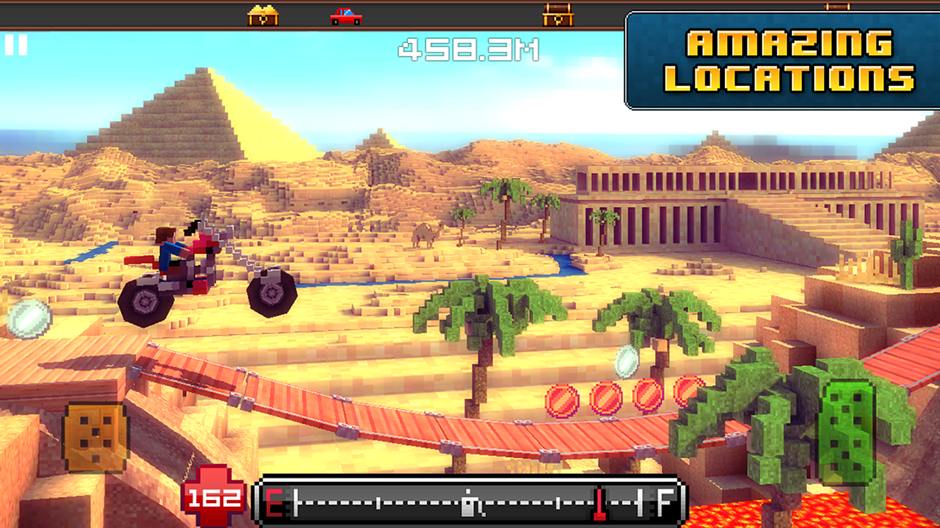 Blocky Roads screenshot #13