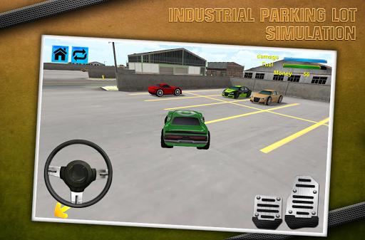 工業停車場模擬