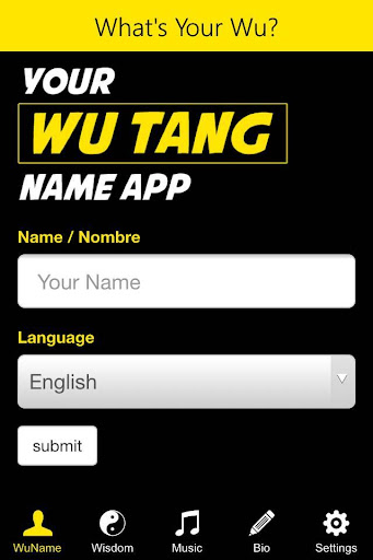 What's Your Wu
