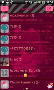GO SMS Pro Emo Skull Theme- screenshot thumbnail