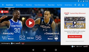 Screenshot of NCAA March Madness Live