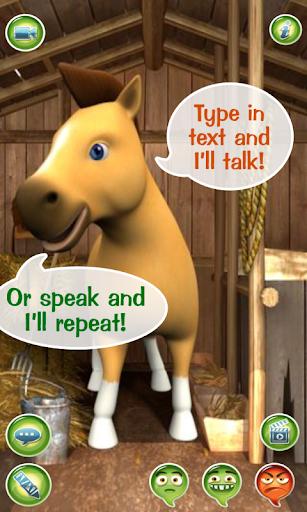 Talky Pete Talking Pony Horse
