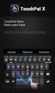 Portuguese TouchPal Keyboard