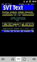 Screenshot of TextTV