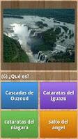 Screenshot of Monuments Quiz
