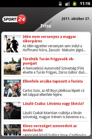 Sport24 - screenshot