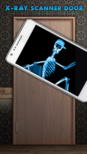 X射线扫描仪门