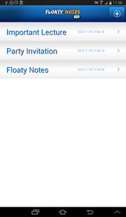 Floaty Notes Free: Share Notes- screenshot thumbnail