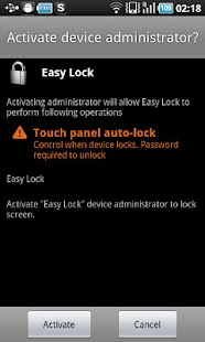 Easy Lock - screenshot thumbnail