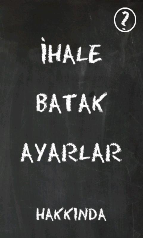 Batak (İhale) - screenshot