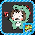 소심발랄 꽁지 스티커팩 icon