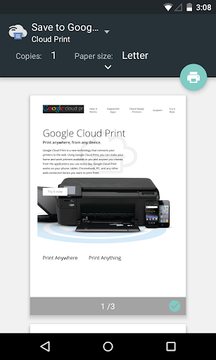 Cloud Print screenshot 2