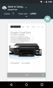 Cloud Print Screenshot