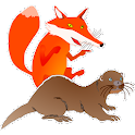 The Fox and the Otter