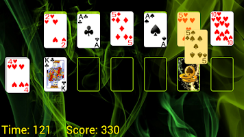 Screenshot of Doublets Solitaire