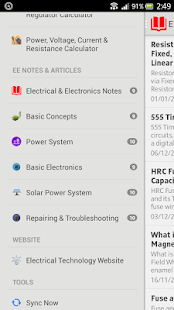 Electrical Technology Screenshot