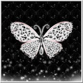 Lace Butterfly Live Wallpaper