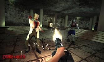 Screenshot of Zombie Waves 3D