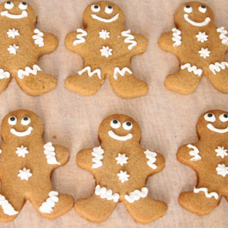 Gluten-Free Gingerbread Cookies.