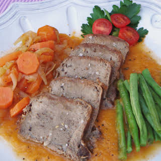 Braised Veal Tongue.
