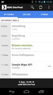 GDG DevFest 2012 Karlsruhe - screenshot thumbnail