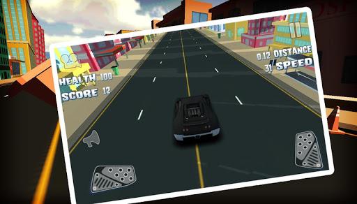 The Traffic Racer 3D
