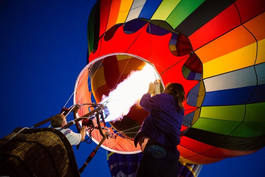 Sky Ride by Lisa Wellott - Transportation Other ( hot air balloon, balloon ride, lake skinner, balloon and wine festival, transportation,  )