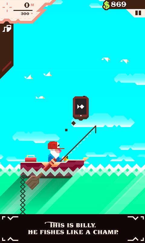 Ridiculous Fishing screenshot #1