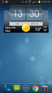 3D Flip Clock & Weather- screenshot thumbnail