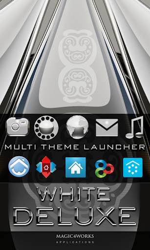 icon pack white deluxe HD