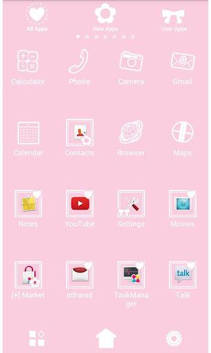 Cute Wallpaper Pretty Pink 1.0 Windows u7528 2