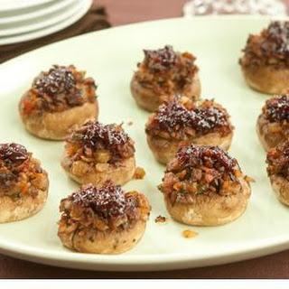 Bacon Jalapeno Stuffed Mushrooms