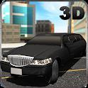 City Limo Car Driver Sim 3D icon