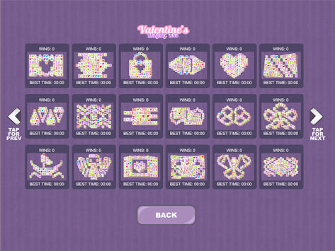 Valentine's Mahjong Tiles apk screenshot