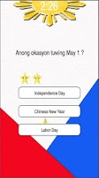 Screenshot of Pinoy Quiz