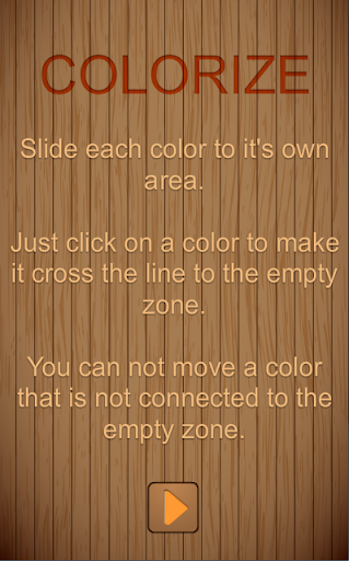 Colorize circle
