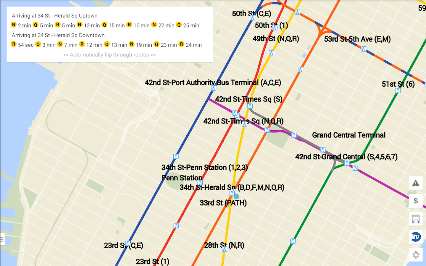 NYC Bus  Subway Live Android Apps On Google Play - Nyc map app android