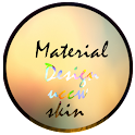 Material Design Uccw Skin free icon